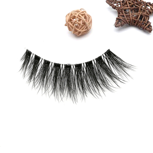 The wholesale private label russian volume faux mink false eyelashes