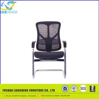 metal frame stackable chair for office guest