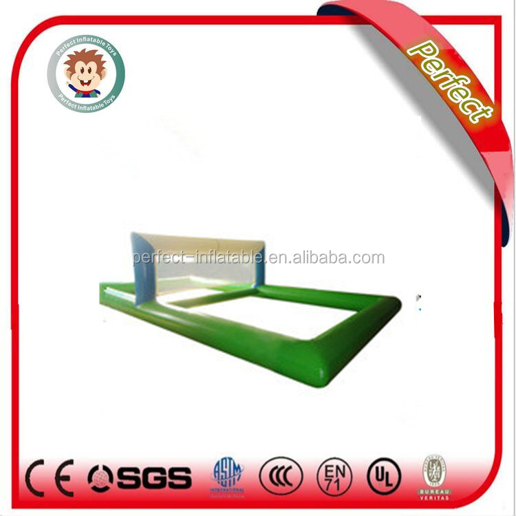 Hot sale used volleyball sport court inflatable beach volleyball court