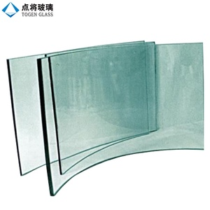 Customized Large Safety Curved Tempered Glass for Building
