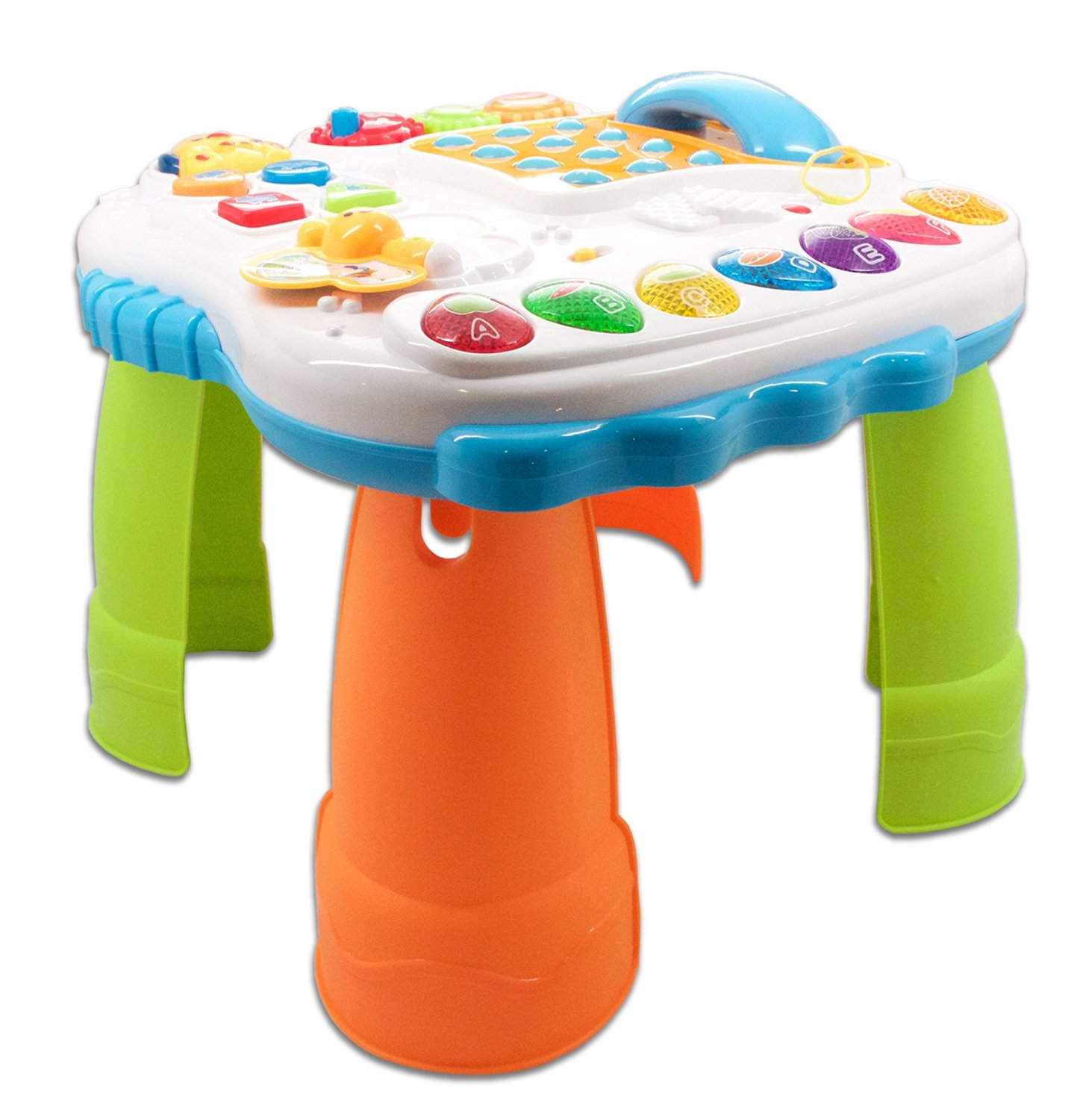 Get Quotations · Learnu0027nu0027play Childrens Work And Play Table With Phone For  Toddlers Learning To