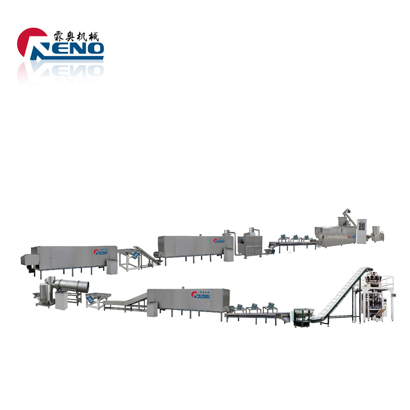 Hot Sale Extruded <strong>Corn</strong> Flakes Machinery Breakfast Cereals Snacks Extruder Process Line