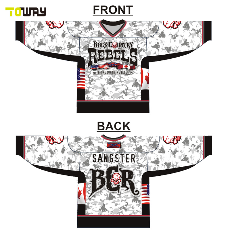 frame for team usa hockey jersey