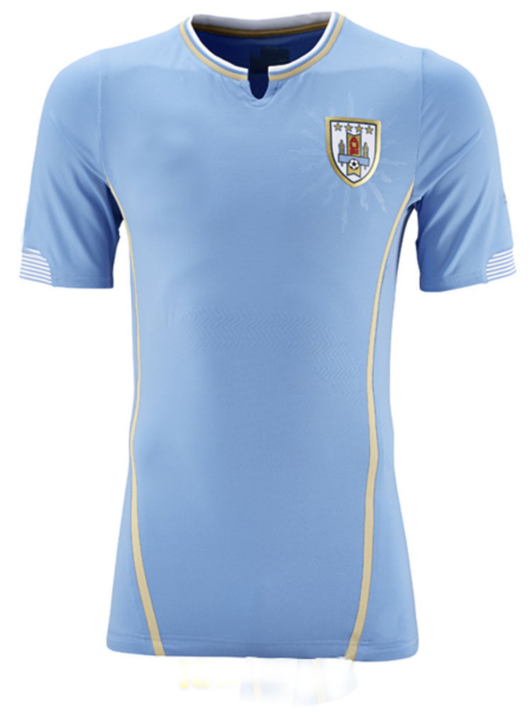 7a3503540 Get Quotations · Uruguay jersey 2014 World Cup Uruguay jersey soccer home  away jersey Suarez Cavani thailand soccer uniforms
