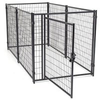 Large outdoor comfortable fashionable high quality folding galvanized low price strong dog cages/kennels/pet houses