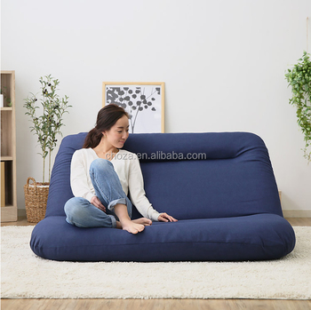F51106a 1 Whole Home Furniture Bean Bag Sectional Sofa Bed Foldable Sleeping Lazy