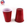 16oz cheap disposable plastic cups red plastic beer cups