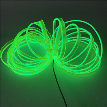 10 Colors Flexible Car EL Welting Electroluminiscent Wire EL welted wire for car party festival decoration