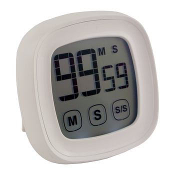Touch Screen White LED backlight 2 Hour Timer with Magnet On Back For Kitchen