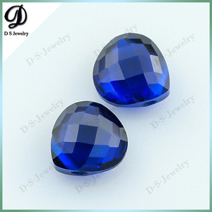 112# Synthetic Spinel Pear Shape Blue Gemstone Names