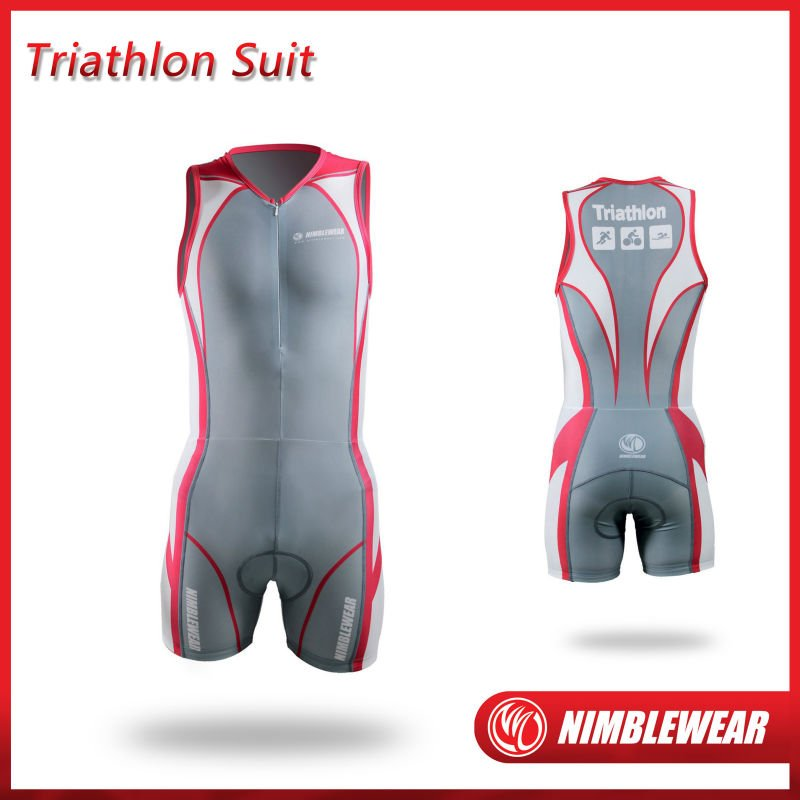 2012 Nimblewear Men's Triathlon Suit Ironman Suit