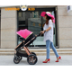 New model 2 in 1 sit and lie down pushchair travel system / carrycot pram / baby throne lightweight baby stroller