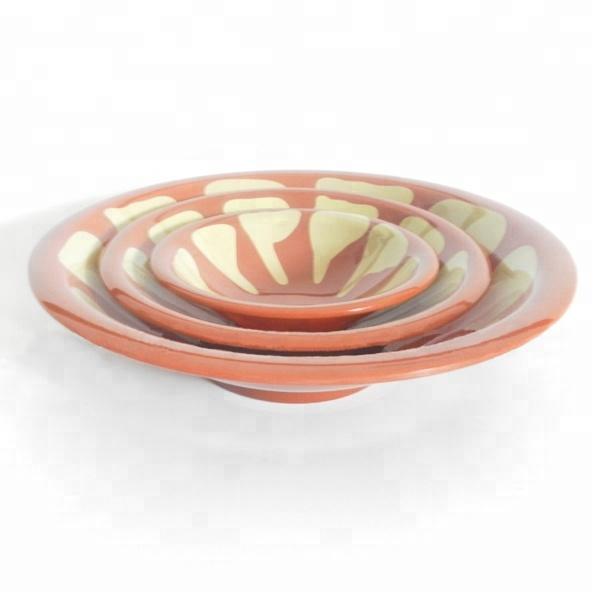 3.5 ''rosa di plastica melamina ciotola di gelato
