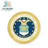 custom zinc alloy gold 100th anniversary challenge coin