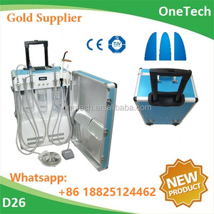 Portable compact dental unit / Useful dental suitcase with many dental accessories D26 :