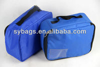 snack insulated bag / tote zipper thermal cooler bag / lunch sack