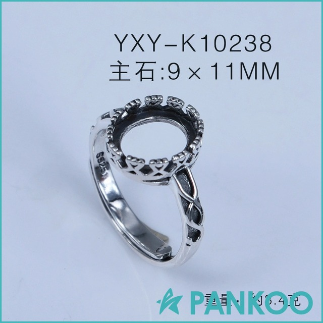 Wholesale 925 sterling silver ring Thai silver infinity ring base DIY blank  findings old jewelry accessory 62f99e4d53f9