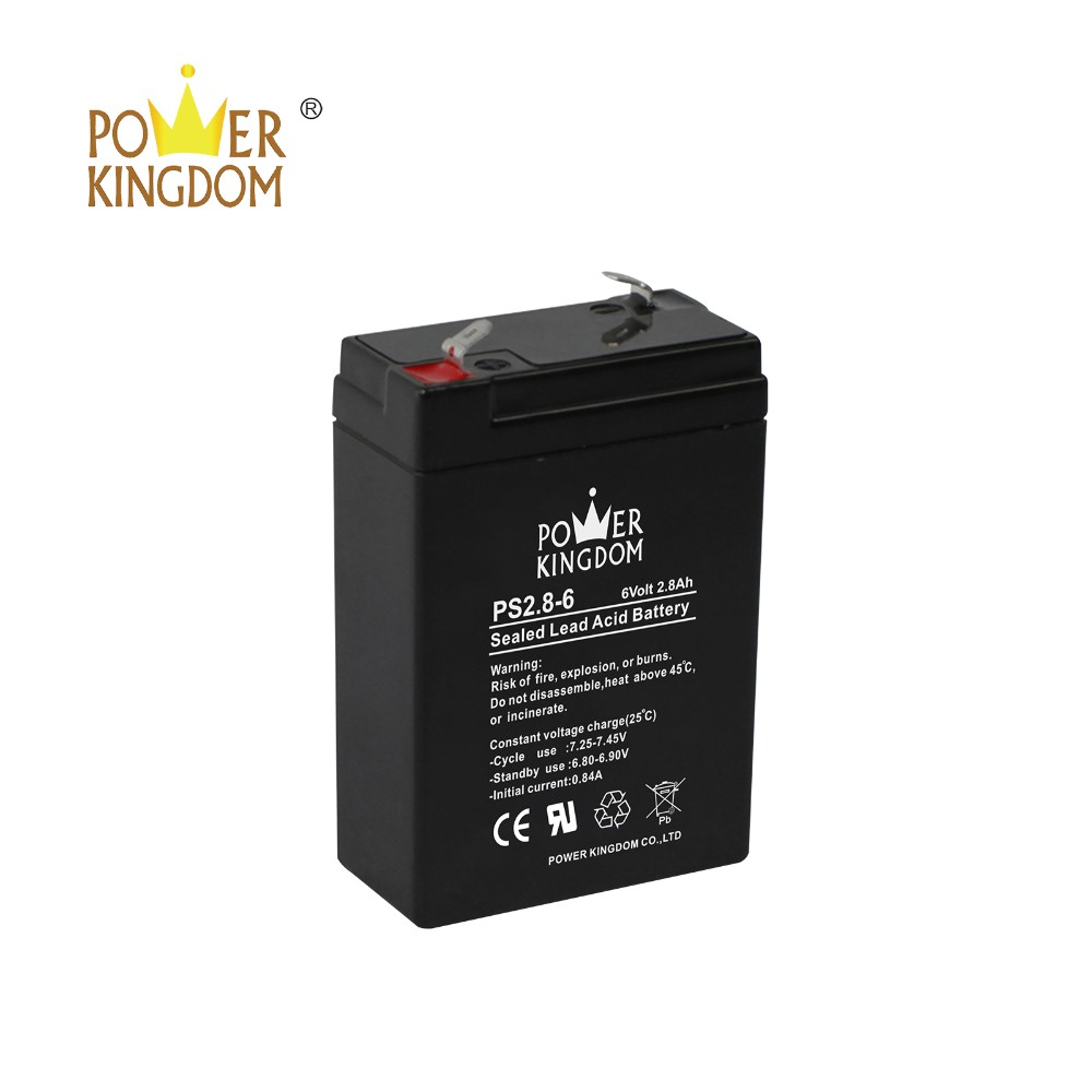 Power Kingdom 105ah agm deep cycle battery wholesale wind power systems-2