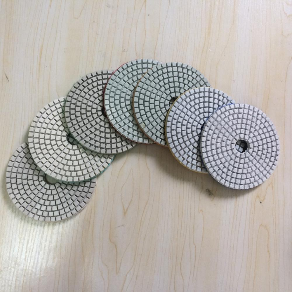 diamond and resin floor wet polishing pads