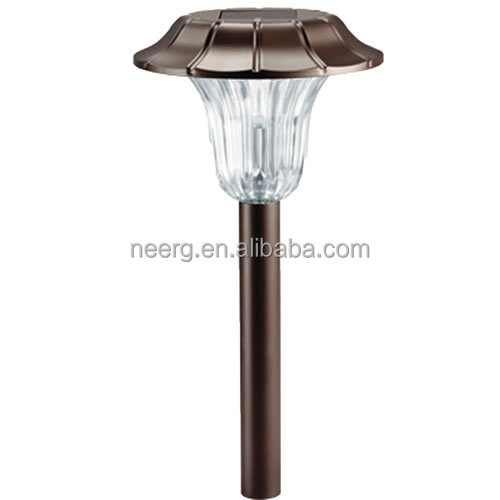 2-PC MILANO Stainless Steel Solar Path Light