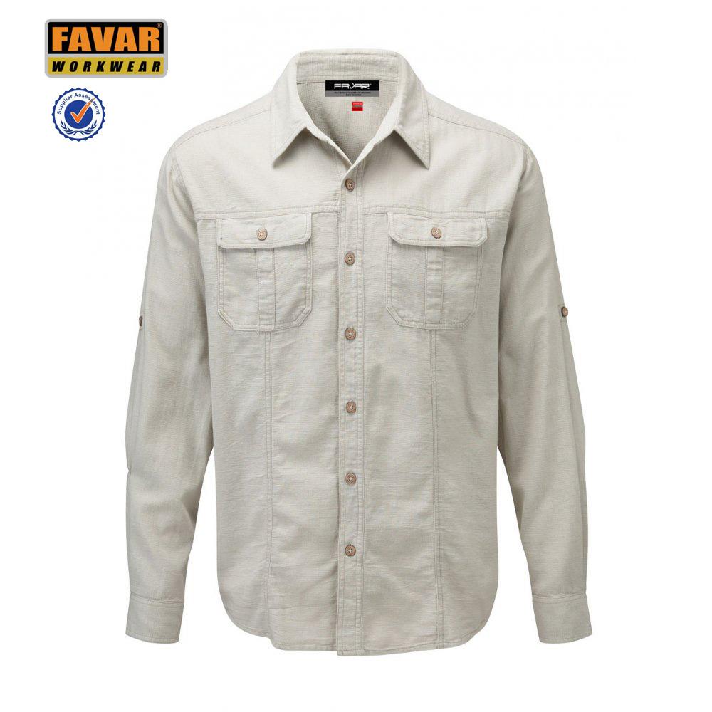 Mechanic Work Shirts Custom On Up Two Pocket Shirt