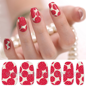 2d Type Factory Directly Foil Nail Wraps