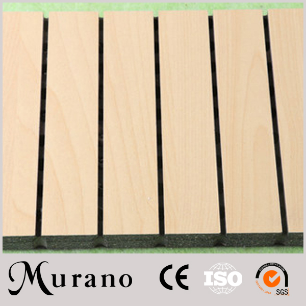 Low price dual channel Solve Your Noise Problem wooden acoustic panel