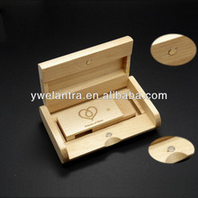 special wood/bamboo material USB OEM logo custom usb flash drive for wholesale