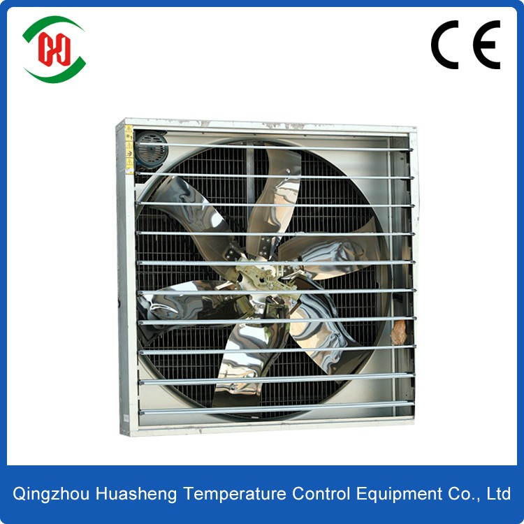50'' centrifugal shutter type Low Noise kitchen exhaust fan Centrifugal blower fan