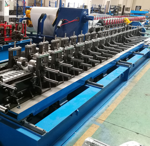 Customized supplier cable tray used roll forming machine
