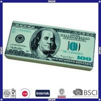 anti-stress logo printed pu U.S. dollar
