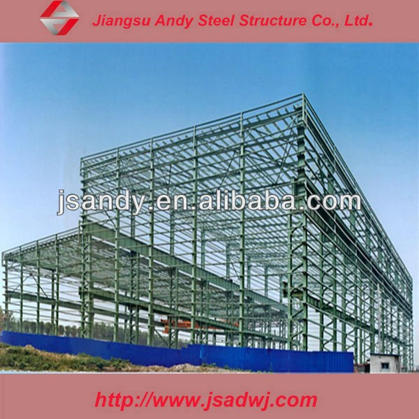 steel structure frame for workshop/warehouse/factory