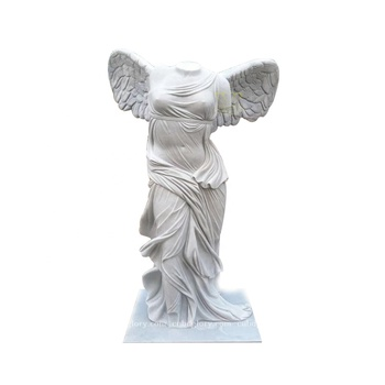 Customized stone carving New product marble Goddess of victory statue