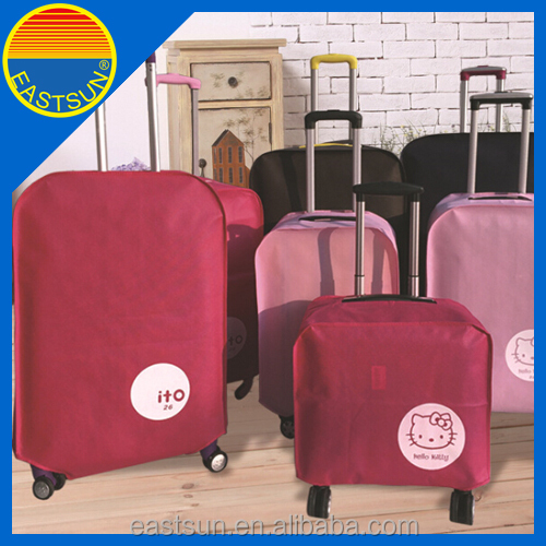 Foldable spandex luggage cover trolley bag cover