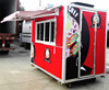 small wheel high quality Mobile Kitchen/Best Designed Street Food Cart