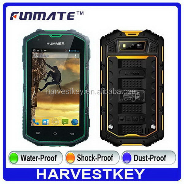 Economic Crazy Selling H5 4.0 inch IP67 Waterproof for android phone discovery