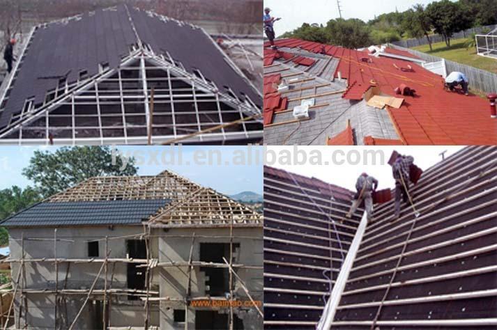 New Arrival Product Zinc Roof Tiles Zimbabwe Stone