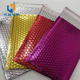 Multicolor Gift Packaging Metallic Foil Bubble Mailers Laptop Envelope