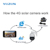 960P 3g 4g 355 degree ip ptz cctv camera with sim card 4x zoom outdoor used cctv wifi security camera