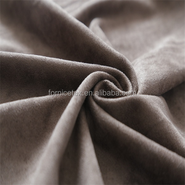 100 polyester uphostery suede fabric for garment suede sofa fabric faux suede fabric for hometextile