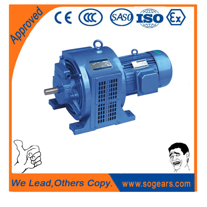 Induction squirrel cage electric motor 2.5kw change speed blower motor