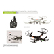 hot selling 2.4g ufo aircraft quadcopter with Gyro+wifi camera phone control