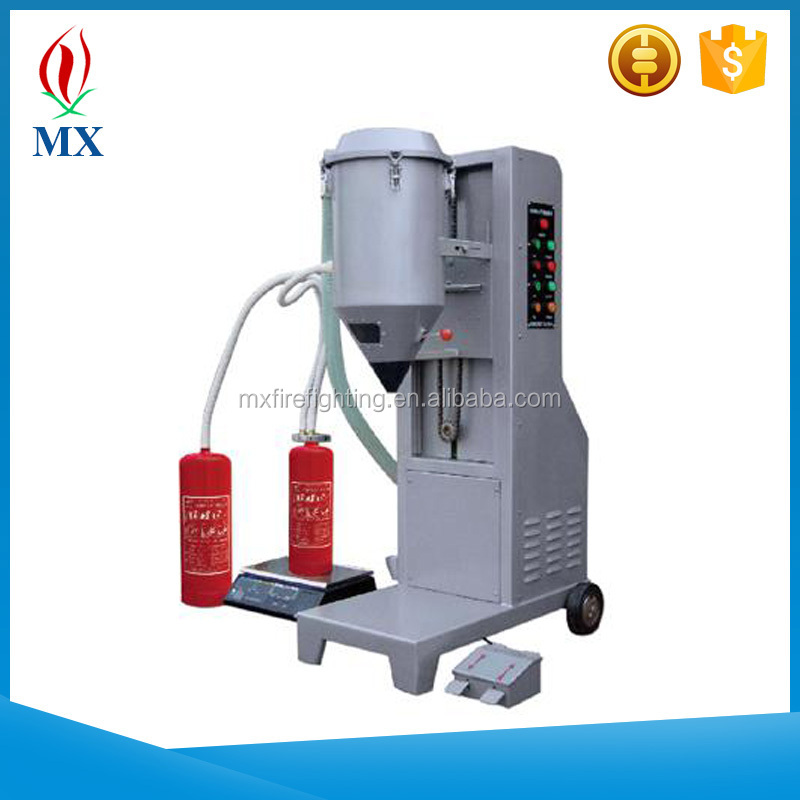 Fire Extinguisher Dry Chemical Powder filling machine /ABC fire extinguisher filler machine