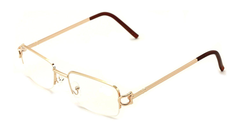 4b3b44f4a9 V.W.E. Rectangular Frame Clear Lens Designer glasses RX Optical EyeGlasses