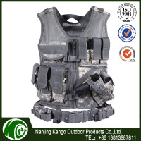 KANGO Military Gear Tactical Vest Airsoft,Police Tactical Vest Combat With Army Desert Camo,4xl Fashion Tactical Vest