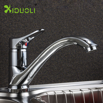 Waterfall Bathroom Chrome Water Tap Kitchen Basin Mixer Taps Sink ...