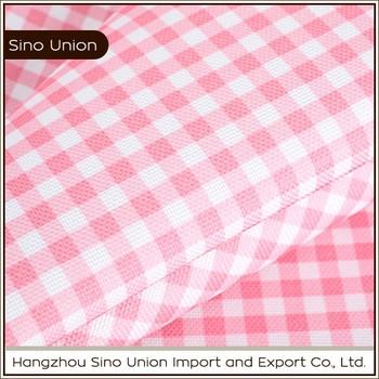 Anti Tear 210D PVC Coated Lightweight Waterproof Tablecloth Fabric