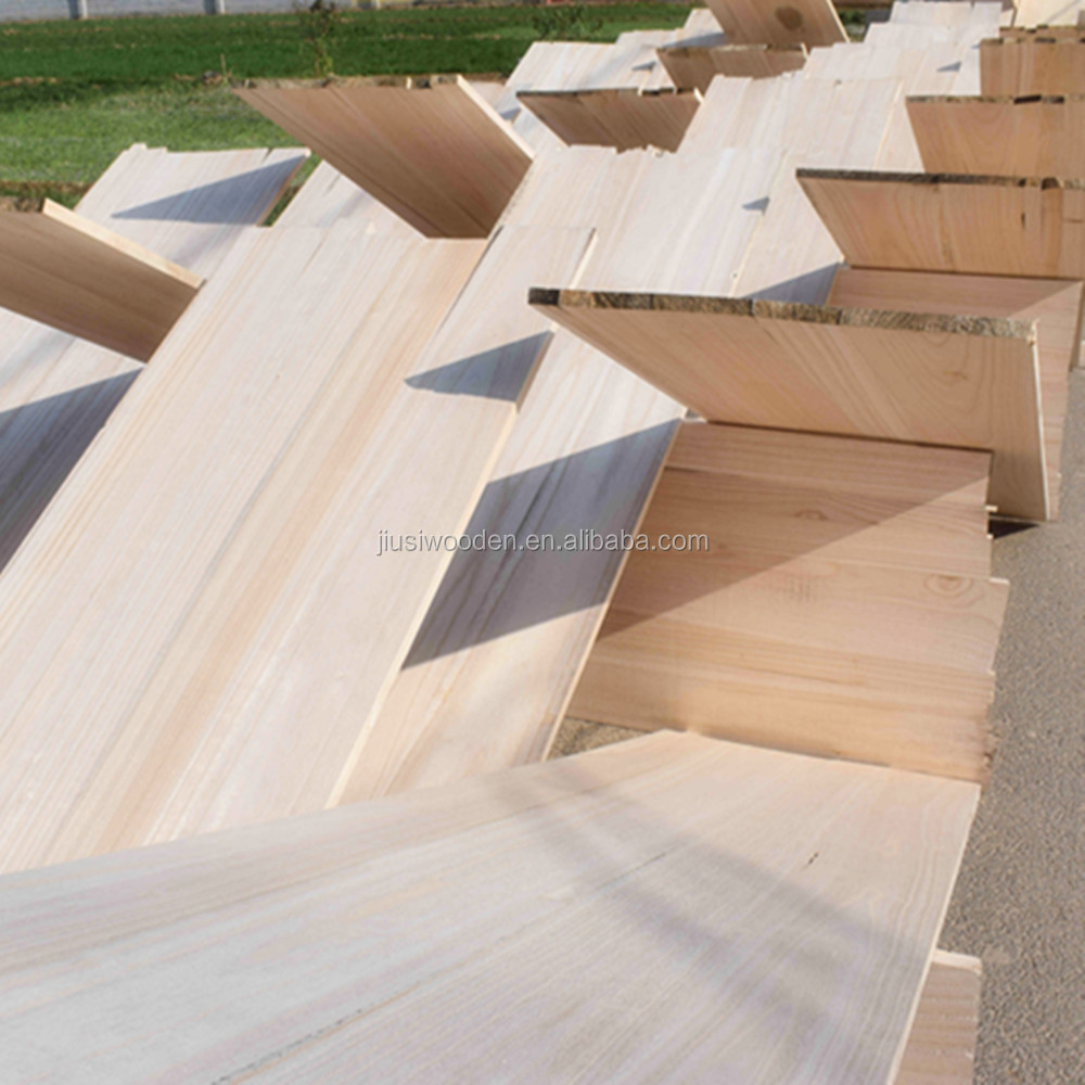 factory direct supplying S4S paulownia wood /log / lignum solid wood board for sale