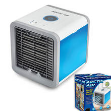 CE ROHS แบบพกพา Mini Air Cooler Arctic Air Conditioner 7 สี LED Light humidifier space cooler ลาฮอร์