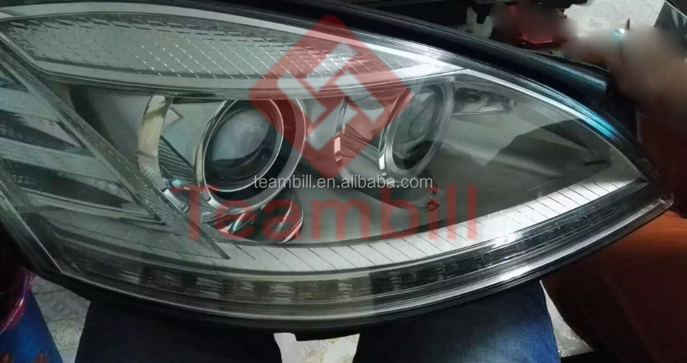 Mercedes W221 headlight with LED HID S350